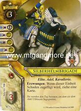 Warhammer Invasion - 1x Silberhelmbrigade  #051