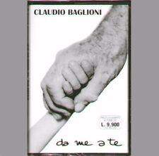 """CLAUDIO BAGLIONI """" DA ME A TE """" MUSICASSETTA SIGILLATA (MC K7)"""