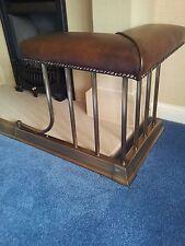 Regent club fender.Antique Brass. Leather seats.