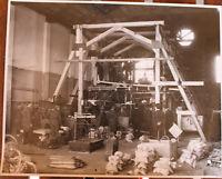 Foto aeronautica Costruzione aereo presso Officine Caproni di Tagliedo anni '30