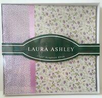 "Laura Ashley Scrapbook Album - 12"" x 12"" Purple Vineyard - NEW"