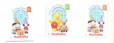 Australia-Play School 50th Anniv gummed set(2) & self-ad(1)mnh-2016 issue