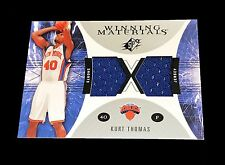 NBA 2003 2004 KURT THOMAS SPX #WM30 GAME USED WINNING MATERIALS TRADING CARD
