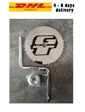 GT Power Series BMX Bicycle 1 Piece Crank Chrome Full Set Cr-Mo 52 Teeth DHL Shi