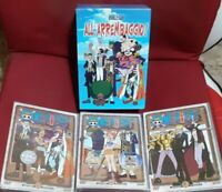 1 BOX + LOTTO DVD ANIME ONE PIECE 2,3,4 EDIZIONE INTEGRALE SHIN VISION nami,zoro