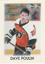 1987-88 O-Pee-Chee Mini Dave Poulin