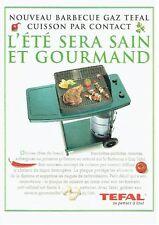 PUBLICITE ADVERTISING 126  1996   le barbecue Gaz Tefal