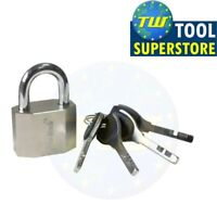 Heavy Duty 40mm Security Steel Shackle Padlock 4 Keys Outdoor Quality Safety