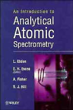 Intro to Atomic Absorption Spectrometry, Ebdon, L., Used; Good Book