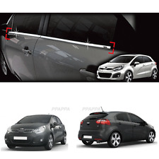 Chrome Window Under Line Molding Trim B237 for KIA RIO Hatchback 2012-2017