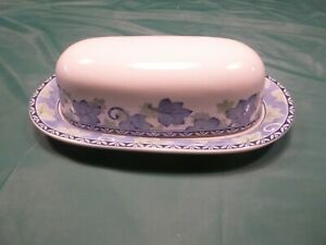 Pfaltzgraff Blue Isle Butter Dish