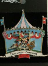 DISNEY DLR KING ARTHUR CARROUSEL CAROUSEL MICKEY & MINNIE KISSING 3D PIN