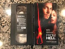 From Hell Vhs! 2001 Horror! Also See Jacks Back & Jack The Ripper