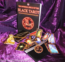 INFERNAL SPELLS OF THE BLACK TAROT Rupert Blunt Grimoire Spell Cards Magick