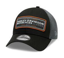 HARLEY-DAVIDSON® MEN'S FLYING EAGLE 39THIRTY® BASEBALL CAP 99409-20VM MEDIUM