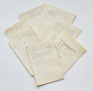 Shorthand Vintage Book Pages, 25 Pages, Copyright 1921, Junk Journal Pages
