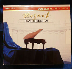BOX 12xCD PHILIPS COMPLETE MOZART EDITION PIANO CONCERTOS - ALFRED BRENDEL