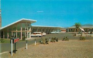 Desert Gem Motel Mid Century Agriculture Gila Bend Arizona Postcard Dexter 10980