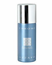 Azzaro Chrome for Men Loris Azzaro Deodorant Spray 5.1 oz  / 150 ml  New & Fresh