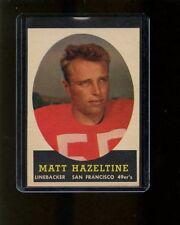 Topps 1958 Matt Hazeltine #100 EXMT Football Card