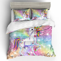 Star Unicorn Single/Double/Queen/King Size Bed Doona/Duvet/Quilt Cover Set