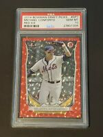 2014 Bowman Draft Red Ice /150 PSA 10 POP 5 Michael Conforto RC Top Rookie Mets