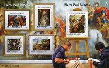 More details for niger 2015 mnh peter paul rubens 4v m/s + 1v s/s art paintings stamps