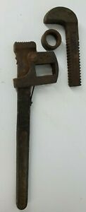 VINTAGE Walworth Stillson #14 Monkey Wrench Made In The USA