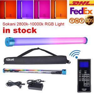 SOKANI X25 RGB Full Color LED Video Light Tube CTT 2800-10000K For Photography