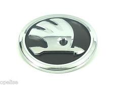 Genuine New Style SKODA BONNET BADGE Emblem For Fabia & Superb 2015+ Yeti 2014+