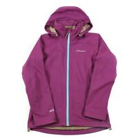 VGC BERGHAUS AQ2 Waterproof Jacket | Size 10 | Coat Rain Wind Hooded Hood