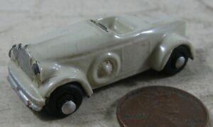 Rare Vintage 1930's Die Cast Lead Race Car Japan