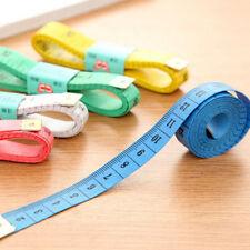 "New Soft Fabric Cloth Tape Measure Ruler Dual Side Tailor Metric 60"" 150cm US"