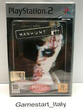 MANHUNT - SONY PS2 - VIDEOGIOCO NUOVO SIGILLATO - PAL VERSION - NEW SEALED