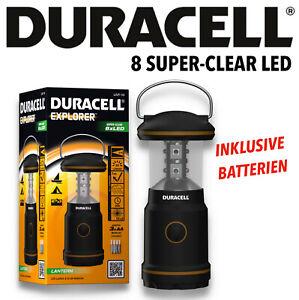 Duracell LED Campinglampe Camping Leuchte Zeltlampe Laterne Outdoor LNT 10
