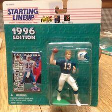 1996 STARTING LINEUP NFL Dan Marino Miami Dolphins Football Kenner SLU