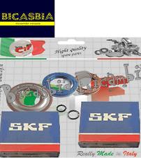 8313 - KIT CUSCINETTI + PARAOLI ALBERO MOTORE PIAGGIO APE 50 FL FL2 FL3 RST MIX