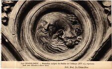 CPA  La Chaise-Dieu - Médaillon sculpté des Stalles de l'Abbaye (XV s.) (585256)