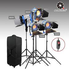 As Arri Dimmer Built-in 300W*2+650W*2 Fresnel Tungsten Lighting Studio Camera