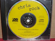 Chris Rock - Your Mother's Got a Big Head PROMO CD Single