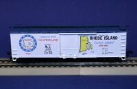 RTR HO Scale State Boxcar / Rhode Island - America's 1st Vacationland / 10113