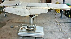 Vintage Retro Denyers Pty Ltd Major Head End Operating Table Made in Melbourne