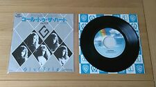 "Giuffria Call To The Heart 1985 Japan 7"" Single P-1940 Insert Classic Hard Rock"