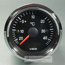 VDO aussentermometer impianto * Chrome Edition * Auto Termometro COMPLETO 12v