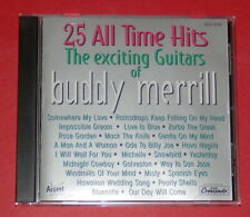 Buddy Merrill - The exciting guitars of Buddy Merrill -- CD / Oldies