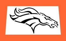 NFL DENVER BRONCOS REUSABLE STENCIL * FREE USA S&H * Pack Mules / Bronco Busters