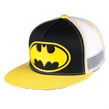 Batman - Rubber Patch Logo Snapback Cap