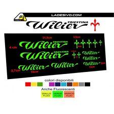 Kit adesivi telaio bici wilier triestina bdc mtb colori a scelta 14 PEZZI