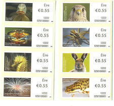 Ireland-Animals & Marine Life(2012)-2132-2139set of 8 mnh-Kestrel-pike-Hare etc
