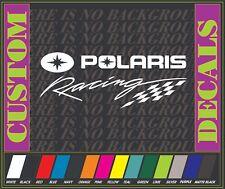 "POLARIS Racing Sticker Decal MX ATV MTB BMX OFF ROAD PWC moto 12"""